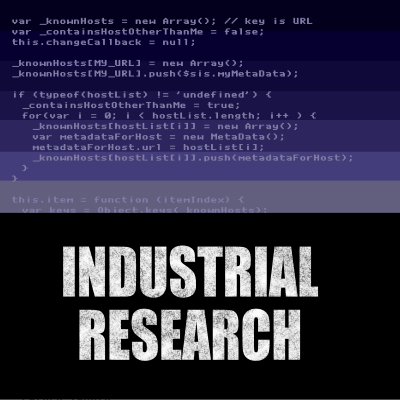 Industrial Research Podcast Logo